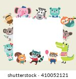 Greeting Card Template With...