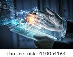 innovative technologies in...   Shutterstock . vector #410054164