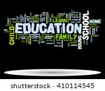 vector concept or conceptual... | Shutterstock .eps vector #410114545