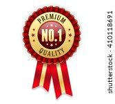 gold no. 1 premium quality...   Shutterstock .eps vector #410118691