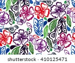 floral pattern to fit the needs ... | Shutterstock .eps vector #410125471