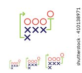 football strategy | Shutterstock .eps vector #410138971
