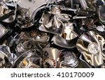 a pile of hard drive that were... | Shutterstock . vector #410170009