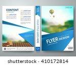 flyers design template vector.... | Shutterstock .eps vector #410172814