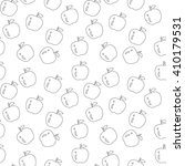 vector seamless pattern with... | Shutterstock .eps vector #410179531