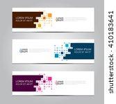 vector design banner... | Shutterstock .eps vector #410183641