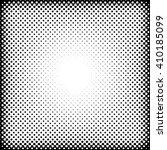 vector dotted halftone raster... | Shutterstock .eps vector #410185099