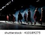 fashion show  a catwalk event ... | Shutterstock . vector #410189275