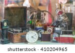 Assorted Vintage Items  Clocks...
