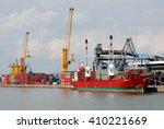 antwerp  belgium   august 8 ... | Shutterstock . vector #410221669