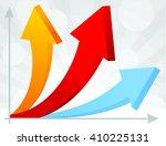 arrow signs  vector | Shutterstock .eps vector #410225131