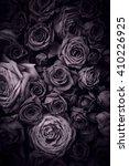 vintage roses background | Shutterstock . vector #410226925