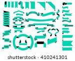 vector ribbon collection. best... | Shutterstock .eps vector #410241301