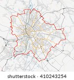 vector map of the city of... | Shutterstock .eps vector #410243254
