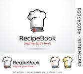 Recipe Book Logo Template...
