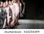 fashion show  a catwalk event ... | Shutterstock . vector #410254399