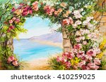 Oil Painting Landscape   Arch...