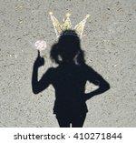 shadow princess | Shutterstock . vector #410271844