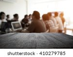desk space platform with... | Shutterstock . vector #410279785