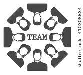 team icon vector.    Shutterstock .eps vector #410308834