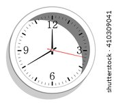 clock icon   | Shutterstock .eps vector #410309041