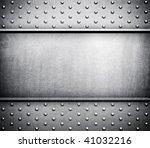 metal template background | Shutterstock . vector #41032216