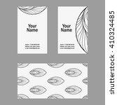 vector set of creative business ... | Shutterstock .eps vector #410324485