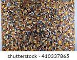 macro texture fragment of... | Shutterstock . vector #410337865