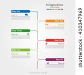 infographic design template... | Shutterstock .eps vector #410347969