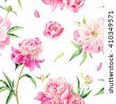 summertime garden flowers... | Shutterstock . vector #410349571