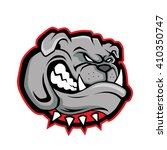bulldog head mascot | Shutterstock .eps vector #410350747
