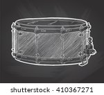 snare drum  sketch drawing... | Shutterstock .eps vector #410367271