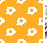 broken eggs seamless pattern.... | Shutterstock .eps vector #410370841