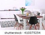 modern living room. furniture... | Shutterstock . vector #410375254