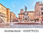 Piazza del Nettuno square in Bologna, Emilia-Romagna, Italy