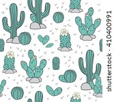 seamless vector pattern with... | Shutterstock .eps vector #410400991