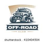off road car logo illustration  ... | Shutterstock .eps vector #410404504