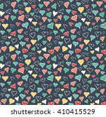 seamless festive love abstract... | Shutterstock .eps vector #410415529