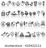 eco friendly bio green energy... | Shutterstock .eps vector #410422111
