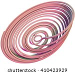 3d illustration of abstract... | Shutterstock . vector #410423929