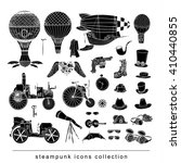 steampunk collection  hand...   Shutterstock .eps vector #410440855