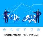 flat design vector concept... | Shutterstock .eps vector #410445061