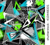 abstract seamless chaotic... | Shutterstock .eps vector #410448331