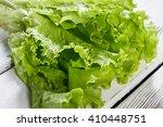 green lettuce leaves. lettuce... | Shutterstock . vector #410448751