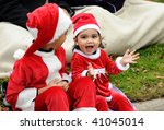 TORONTO-NOVEMBER 15: Toronto Santa Claus  Parade has a tradition of 105 yeas and this year, in spite of the economic recession, was the best ever on November 15, 2009 in Toronto, Canada. - stock photo
