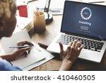 installing bar load waiting... | Shutterstock . vector #410460505