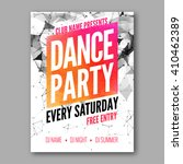 Dance Party Poster Template....