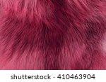 texture long pile fur  fox... | Shutterstock . vector #410463904