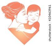 vector illustration. tender... | Shutterstock .eps vector #410463961