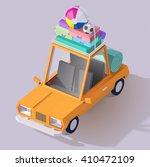 vector isometric car... | Shutterstock .eps vector #410472109